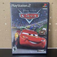 Disney Pixar Cars PS2 (Sony PlayStation 2) Tested - Black Label - Free Ship