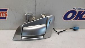 09-17 NISSAN 370Z OEM PASSENGER RIGHT EXTERIOR DOOR HANDLE ASSEMBLY SILVER