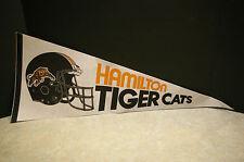 "VINTAGE 1980'S 'HAMILTON TIGER CATS' 30"" LONG FELT PENNANT"