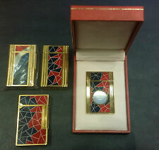 ST DUPONT PARIS FRENCH REVOLUTION MOSAIC LACQUER CIGAR CUTTER NEW IN BOX LIMIED