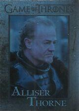 2015 Game of Thrones Season 4 Foil Parallel Card # 81 Alliser Thorne
