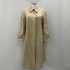 Burberry's Trench Coat Size UK M/L Knee Midi Length Brown Lightwear Smart 334010