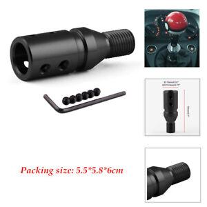 1x gear shifter Automotive car thread converter metal gear lever adapter