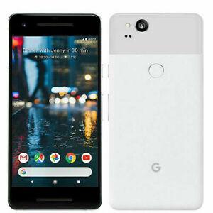 Google Pixel 2 XL G011C - 64GB - Black/White (Unlocked) Smartphone