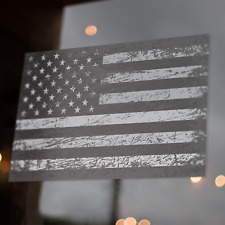 Tactical American Flag Decals 5x3