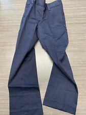 Dennis uniform Twill Pull Up Elastic Back Pants girls size G6 Navy NWOT