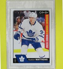 "AUSTON MATTHEWS  2015-16  ROOKIE  "" OPC MARQUEE ""  #694   Toronto Maple Leafs"