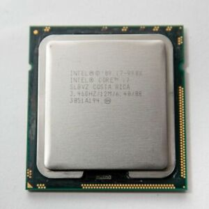 Intel Core Extreme Edition i7-990X 3.46GHz 12Threads LGA 1366 Six-Core Processor