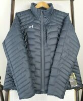 NEW UNDER ARMOUR Womens XL ColdGear Insulated Quilted Jacket Coat Black NWT $200