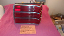 1977-1979 DODGE MAGNUM EX GENUINE FACTORY OEM RIGHT TAILLIGHT LENS FREE SHIPPING