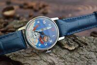 Vintage watch Yuri Gagarin. Watches for men, mens watch, military watch soviet