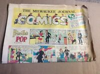 NOVEMBER 23 1958 MILWAUKEE JOURNAL Sunday Newspaper Comic Section