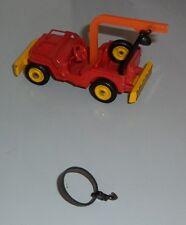 Dinky toys 1412 - élastique et crochet pour jeep dépannage