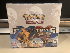 Evolutions Booster Box Sealed NM Condition Pokemon