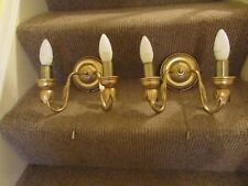 Endon Lighting 2 sets of 2 Light Candle Wall Lights. Pull Switch.