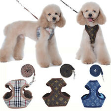 Floral Soft Dog Harness And Lead Set For Chihuahua Pomeranians Puppy