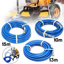 10m 13m 15m Airless Paint Spray Hose  1/4'' 5000PSI Plus Hose Connector  G E
