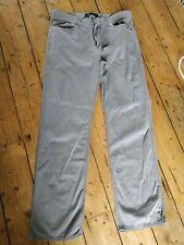 Gap Grey Straight Cut Trousers Chinos 34x32