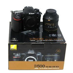 Nikon D500 + AF-S DX 16-80mm f/2.8-4E ED VR - UK NEXT DAY DELIVERY