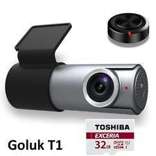 Goluk T1 Wi-Fi FHD 1080P Mini Car Dash Cam with 32GB SD Card,Night Vision