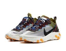 Nike React Element 87 AQ1090-300 Moss/El Dorado Size UK 14 EU 49.5 US 15 New