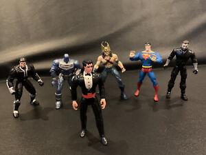 DC Comics Lot Total Justice JLA Hawkman Superman Ra's Al Ghul Bruce Wayne Steel