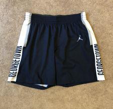 Brand New Nike Jordan Women's Medium Georgetown Hoyas Authentic Basketball Short