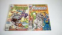 Avengers # 190 & 191 (Marvel)1979/80 -- feat. GREY GARGOYLE -- FN/FN+