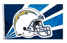 Los Angeles Chargers 3x5 Flag - Helmet Design [New] Nfl Banner Sign Fan Wall