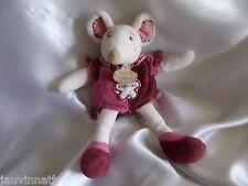 Doudou souris Framboisine, Doudou et compagnie (cie),25 cm