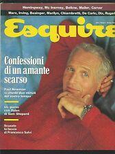 =A  Rivista  ESQUIRE  n.  1 del 1990   Paul Newman  Ottimo !!!