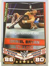 Slam Attax Rebellion - #036 Daniel Bryan - Yes! Lock - Signature Move