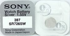 280-28 Sb-Al Sr726Sw Sr59 Watch Battery Sony 397 Sr726Sw V397 D397 607 N