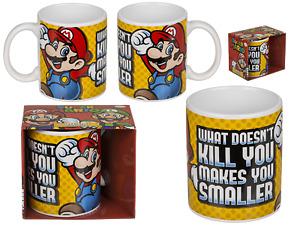 Super Mario Mug II Gift Idea Tea Coffee Drink Mug Ceramic Boxed New