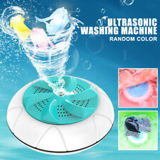 Household Mini Ultrasonic Turbine Washing Machine Spin Dryer Laundry Washer Cr
