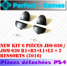 button trigger spring  L1 L2 R1 R2 new controller PS4 2016 JDM-030 JDS-030