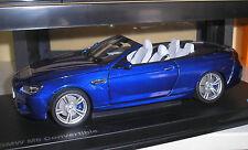 BMW M6 Cabrio blaumetallic in 1:18 von Paragon