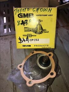 CP732 Water Pump to suit early Toyota Crown, Corona, '64-'74, 3R 5R M 2M engines