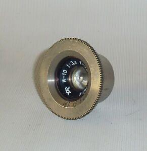 Industar-10 И-10 1:3,5 F=50mm Soviet LOMO Lens for SLR Sport camera #15814