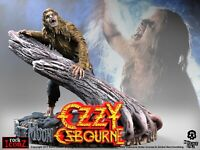 Ozzy Osbourne 'Bark at the Moon' Rock Iconz™ Statue Direct from KnuckleBonz
