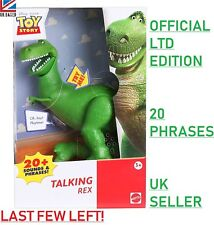 *20 PHRASES* Toy Story Deluxe Talking Rex Dinosaur Official Disney Store Figure