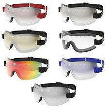 NEW- KROOPS 13-FIVE Skydiving Parachute Sports Goggles |100% UV400 Lenses