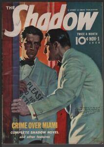 Shadow 1940 November 1.  Pulp