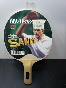 Harvard Sandy Premium Ping Pong Table Tennis Paddle Racket