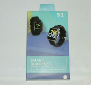 S1 Smart Bracelet Pedometer Heart Rate Blood Pressure Monitor Fitness Tracker