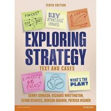 Exploring Strategy (Text Only), plus MyStrategyLab with Pearson eText, Johnson,