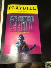 Be More Chill Playbill From The First Preview!!! 2/13/19