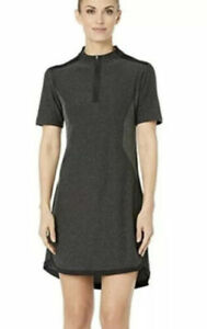 NEW Nike Zonal Cooling Tech Golf Dress 929926-010 Women's Size Small Gray/Black