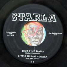 HEAR Little Julian Herrera 45 True Fine Mama/I Remember Linda rockabilly rocker
