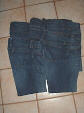 5 Pair Men's Old Navy Famous Jeans Straight Dark Wash 33x32 (34x31)